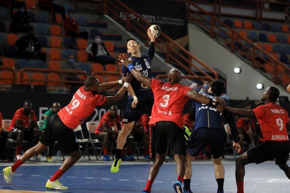 Angola perde com Japão e termina em último lugar no grupo C do Mundial de andebol