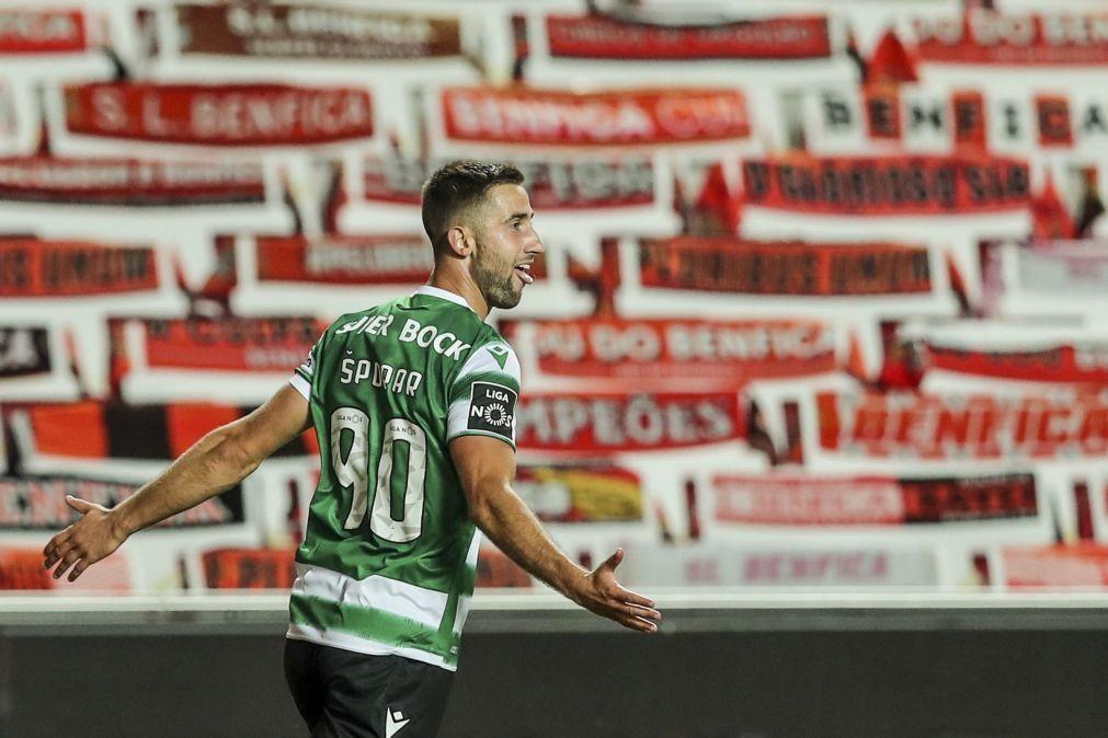 Taça da Liga: Sportinguistas Nuno Mendes e Sporar fora da meia-final