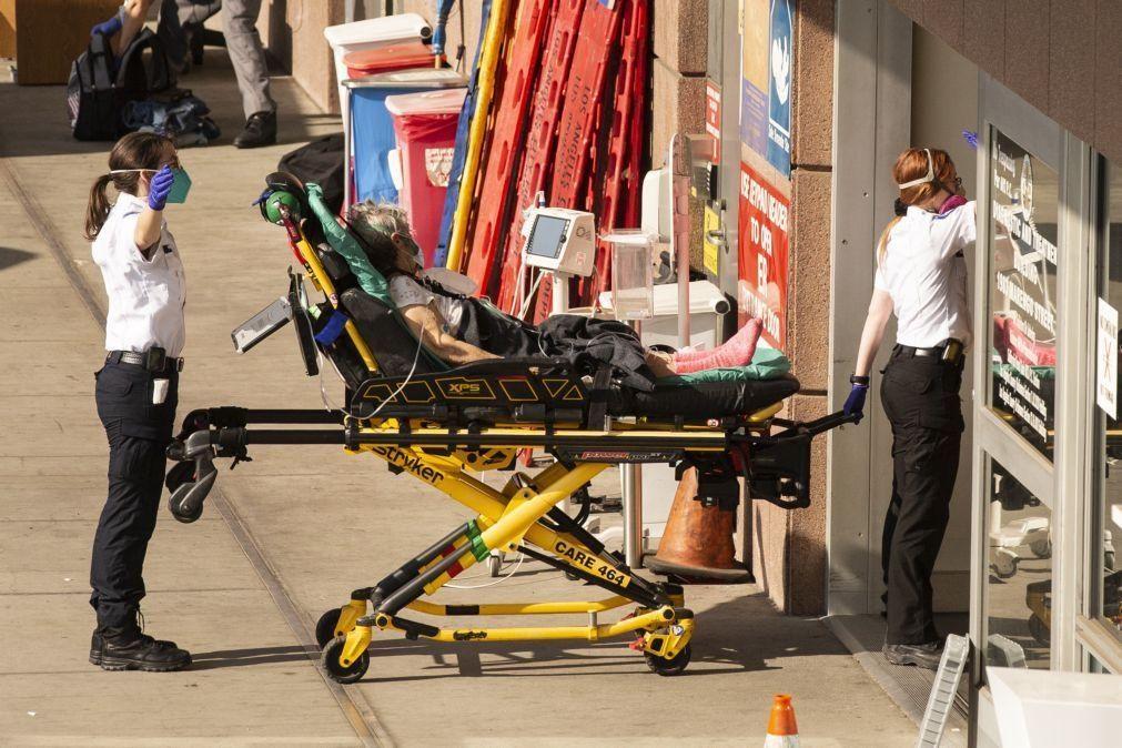 Covid-19: Mortes nos EUA acima das 400 mil nas últimas horas de Trump