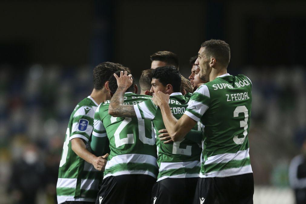 Taça da Liga: Sporting vence FC Porto e está na na final pela quinta vez