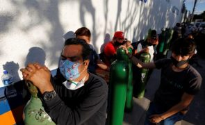 Covid-19: México regista 1.584 mortes em 24 horas, novo máximo diário