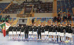 Portugal inicia ronda principal do Mundial de andebol frente à Noruega