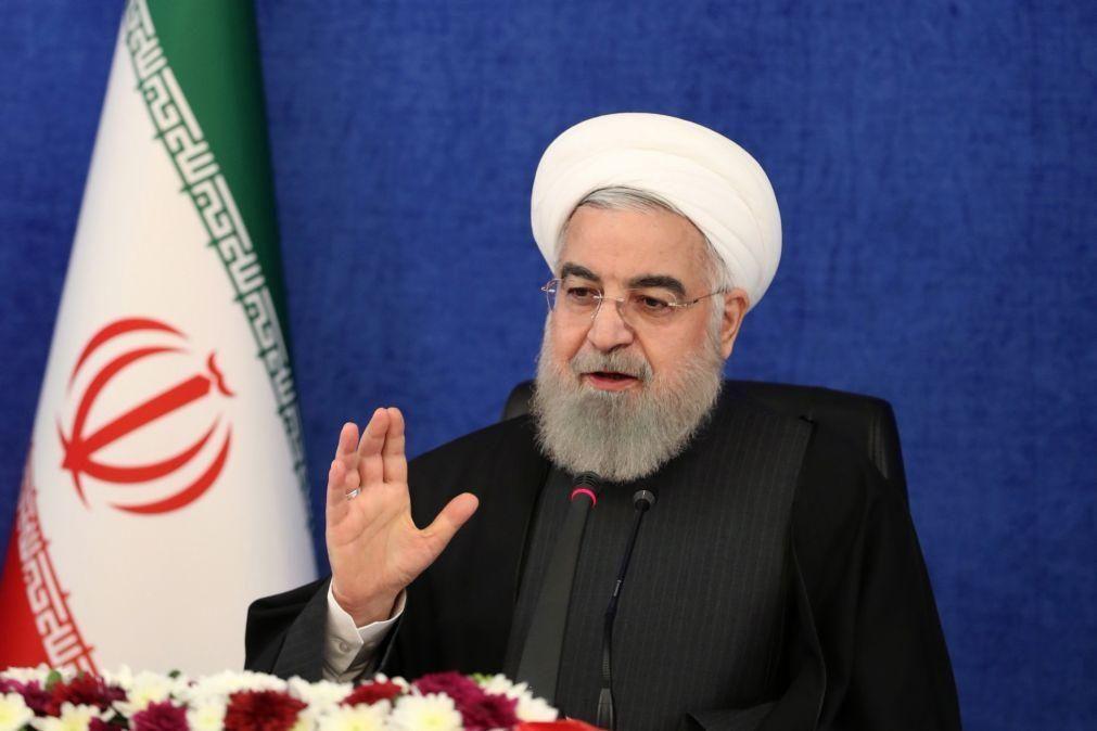 Presidente iraniano saúda