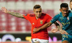 Benfica eliminado pelo Sporting de Braga na Taça da Liga [vídeos]