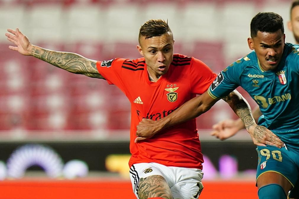 Covid-19: Benfica com mais dois jogadores infetados