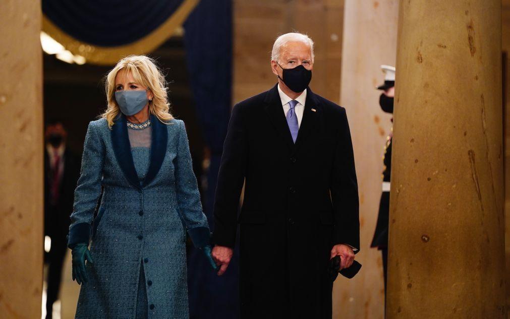 Joe Biden toma posse como 46.º Presidente dos EUA