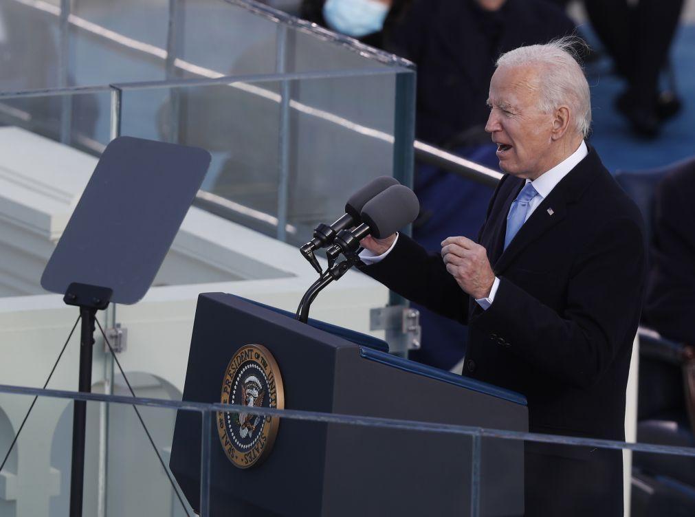 Biden pediu unidade nacional e confiança na democracia