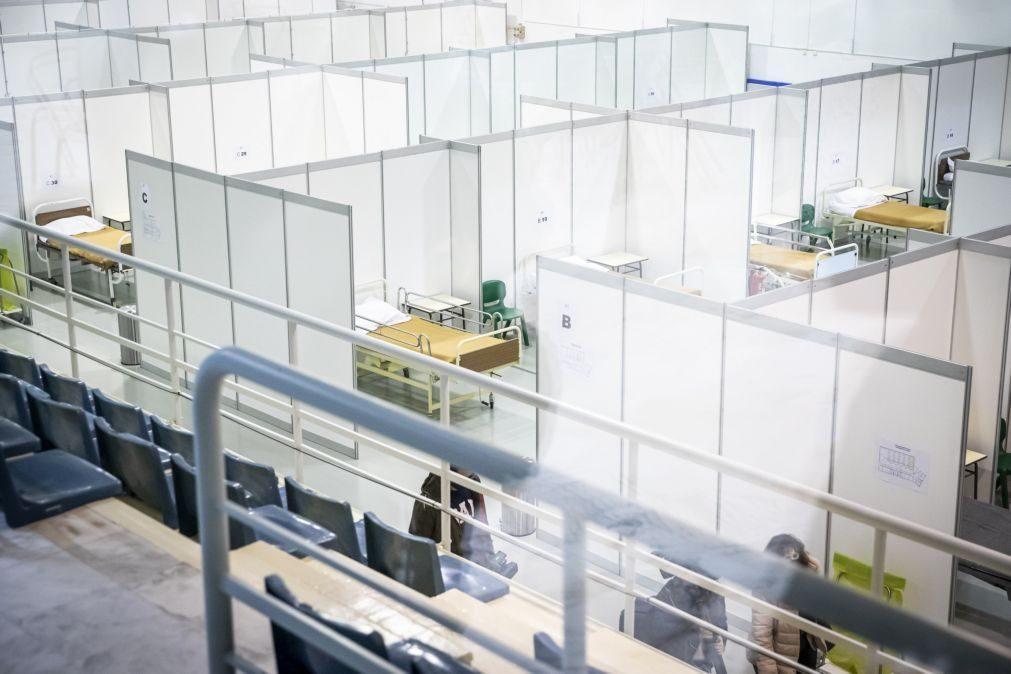 Covid-19: Nova unidade de retaguarda tem 58 camas para infetados