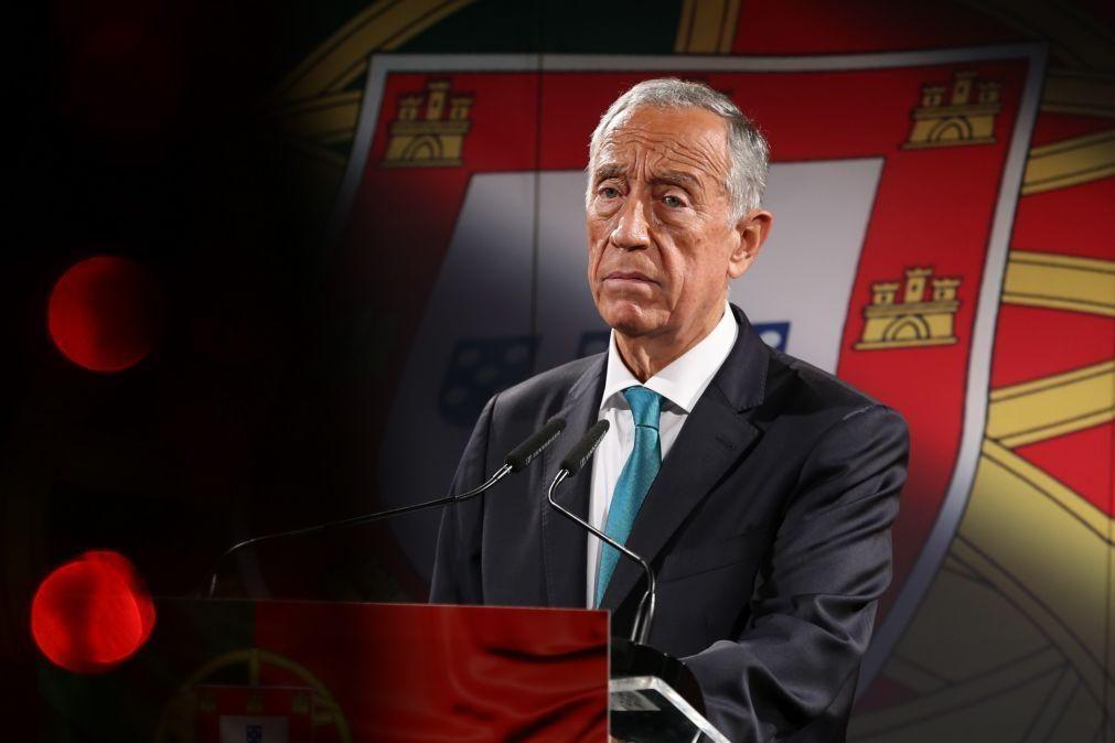 Marcelo felicita Presidente dos EUA e destaca
