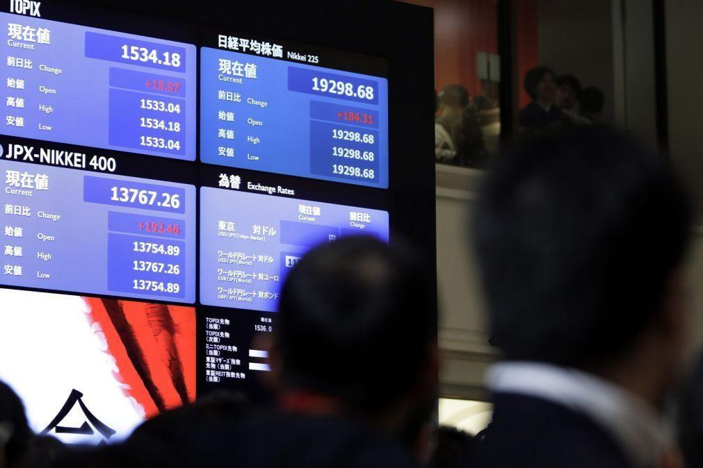 Bolsa de Tóquio fecha a ganhar 0,82%