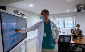 Covid-19: No gabinete de gestão de crise do hospital de Gaia manda a flexibilidade