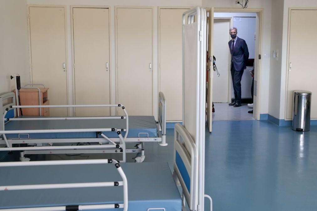 Covid-19. Hospital Militar de Lisboa duplica capacidade com mais 140 camas