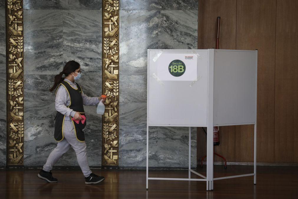 Presidenciais: 80% dos inscritos para o voto antecipado votaram no domingo
