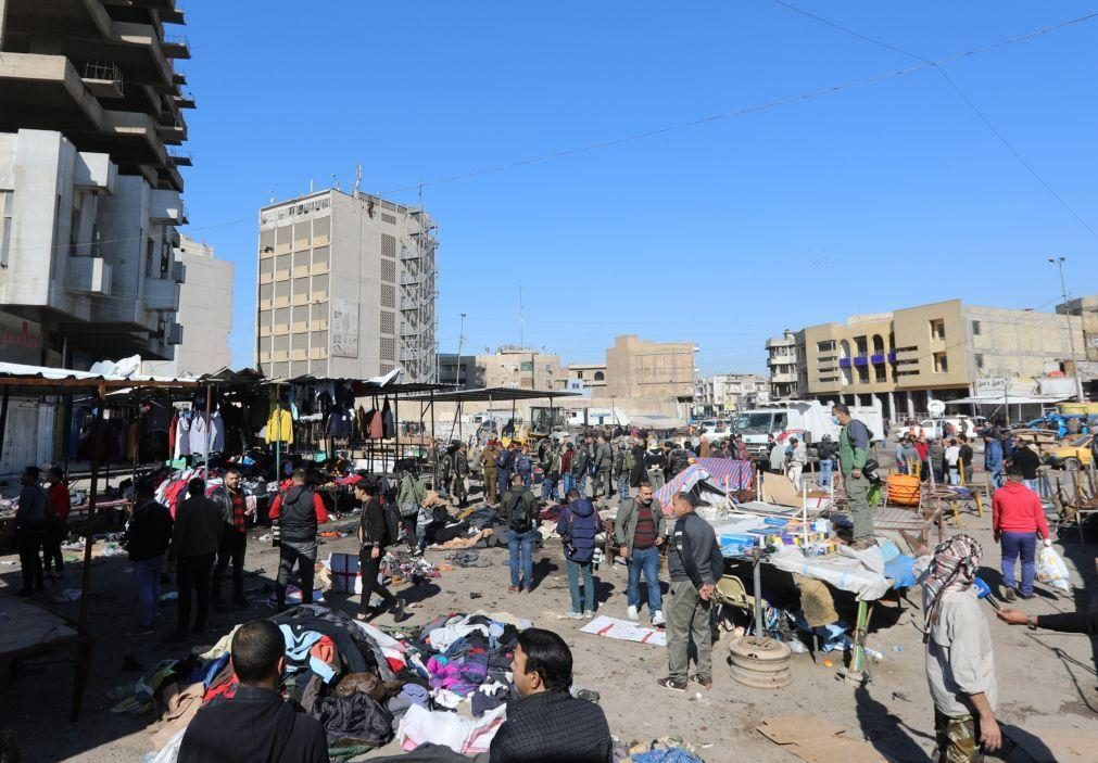 Novo balanço do atentado de Bagdad indica 28 mortos e 73 feridos graves