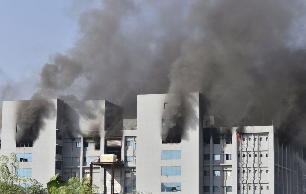 Cinco pessoas morreram no incêndio na maior fábrica mundial de vacinas