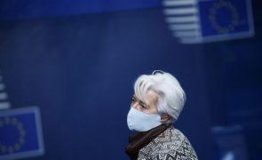 Lagarde diz que pandemia ainda apresenta riscos sérios para as economias