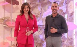 Maria Botelho Moniz e Cláudio Ramos lamentam morte de convidado