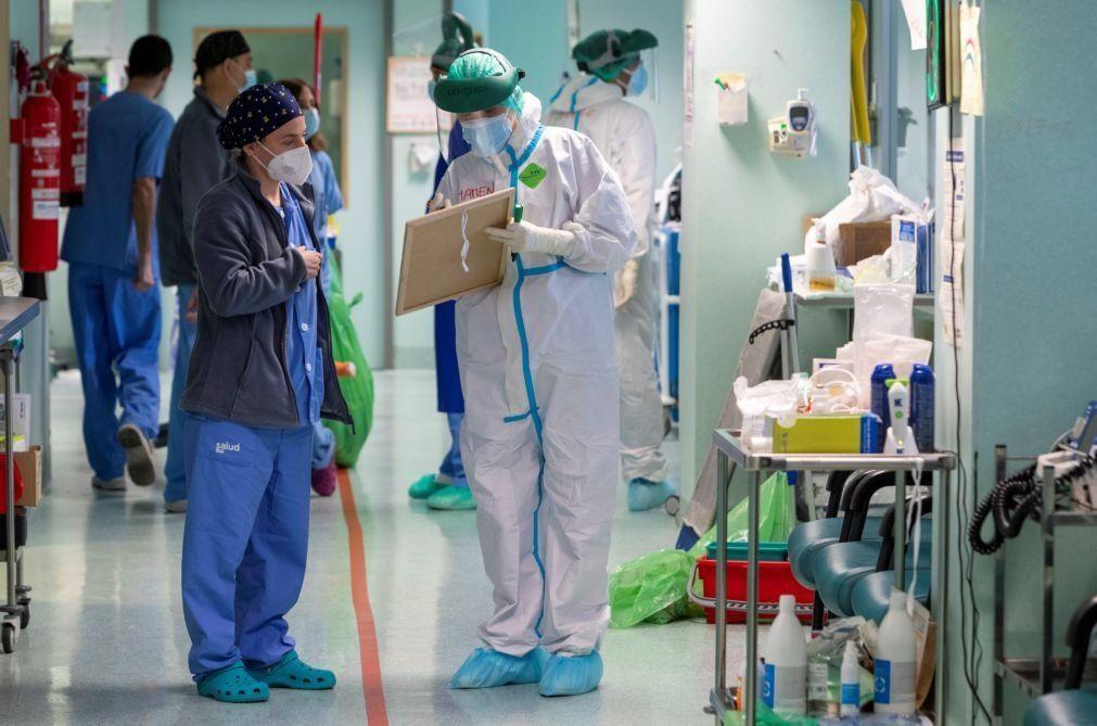 Covid-19: Espanha regista novo recorde diário de contágios com quase 45.000 novos casos