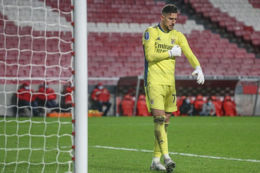 Helton Leite é o mais recente infetado pela covid-19 no Benfica