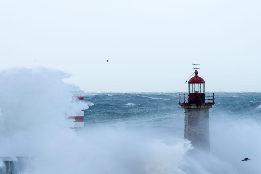 Alerta para agravamento do vento e do estado do mar até sábado