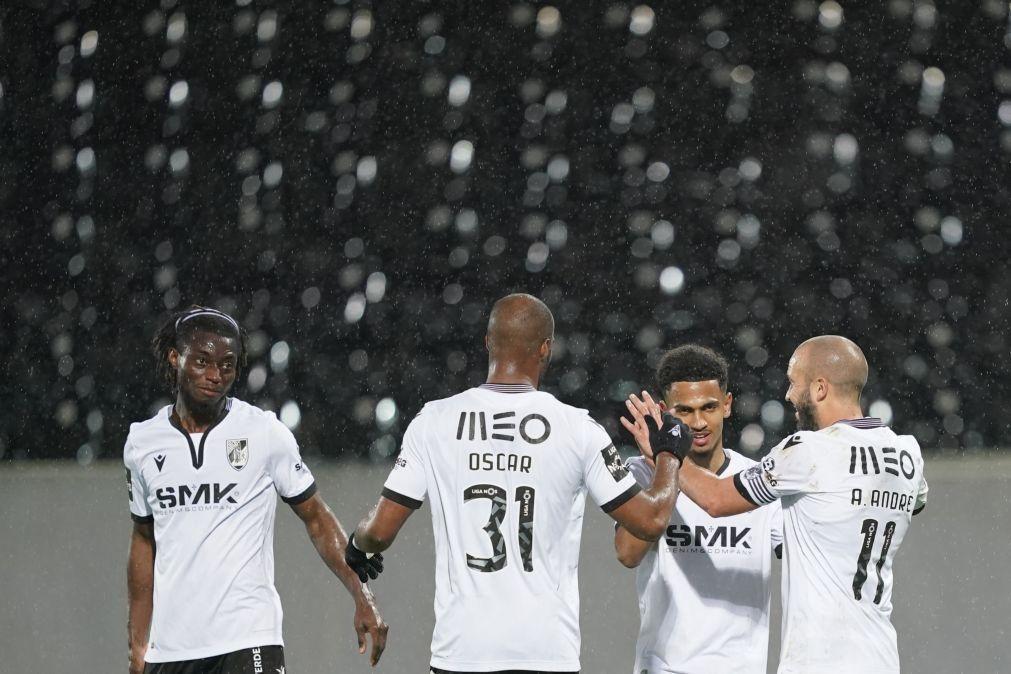 Vitória de Guimarães vence Nacional e aproxima-se do quinto lugar da I Liga