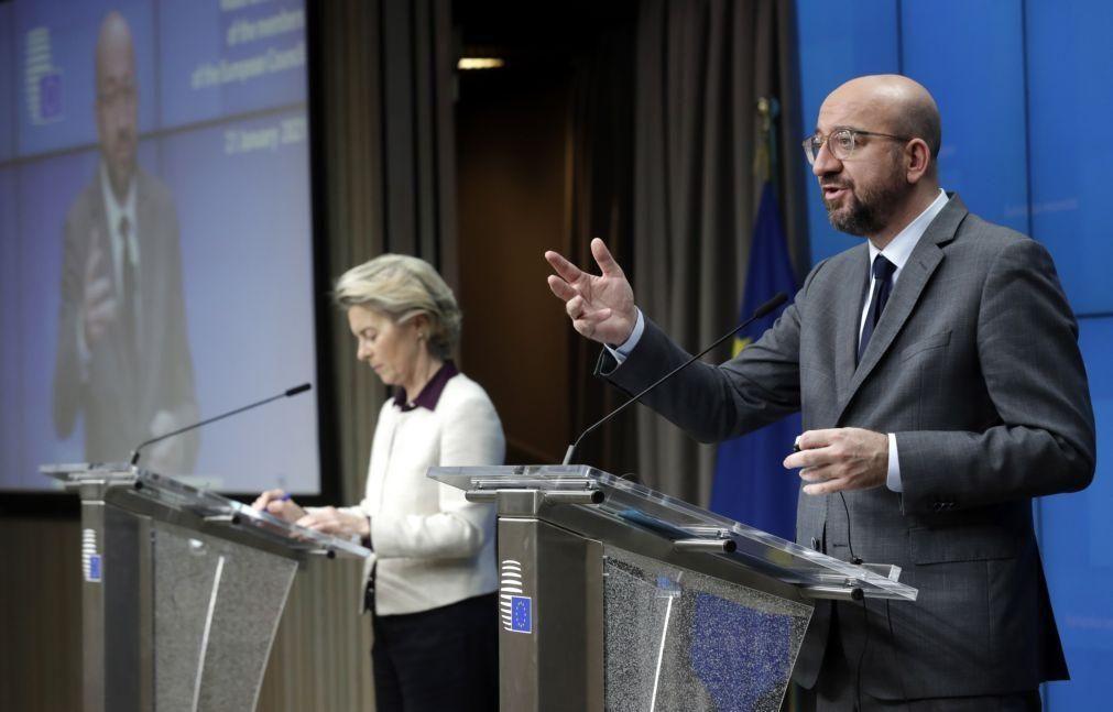 Covid-19: Líderes da UE de acordo em manter ou mesmo reforçar restrições - Charles Michel
