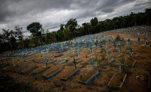 Covid-19: Brasil supera 214 mil mortos e aproxima-se dos 8,7 milhões de casos