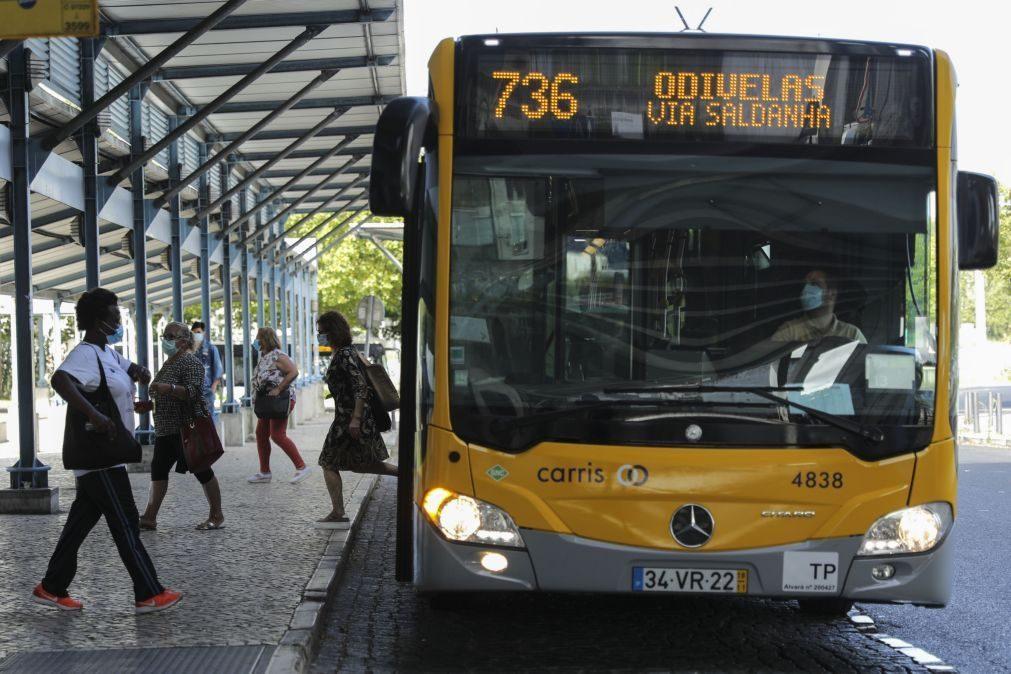 Covid-19: Transportes rodoviários reduzidos na AMLisboa durante o encerramento das escolas