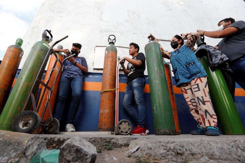 Covid-19: México regista 1.803 mortes em 24 horas, novo máximo diário
