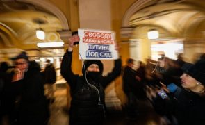 Navalny: Autoridades russas detiveram mais apoiantes do opositor russo