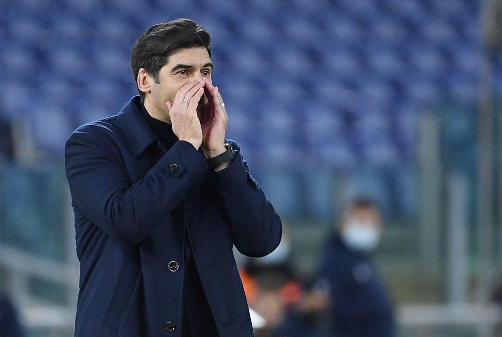 Paulo Fonseca garante manter apoio do presidente da Roma