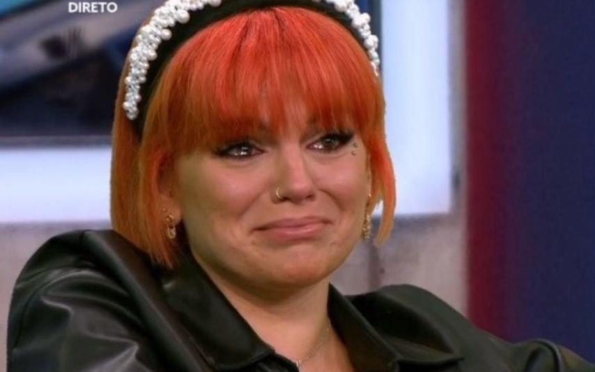 Fanny em lágrimas após mensagem emotiva da irmã