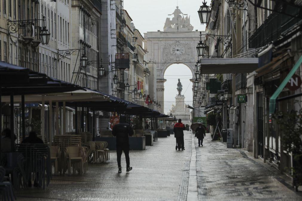 Covid-19: Menos circulação em Lisboa após o encerramento das escolas