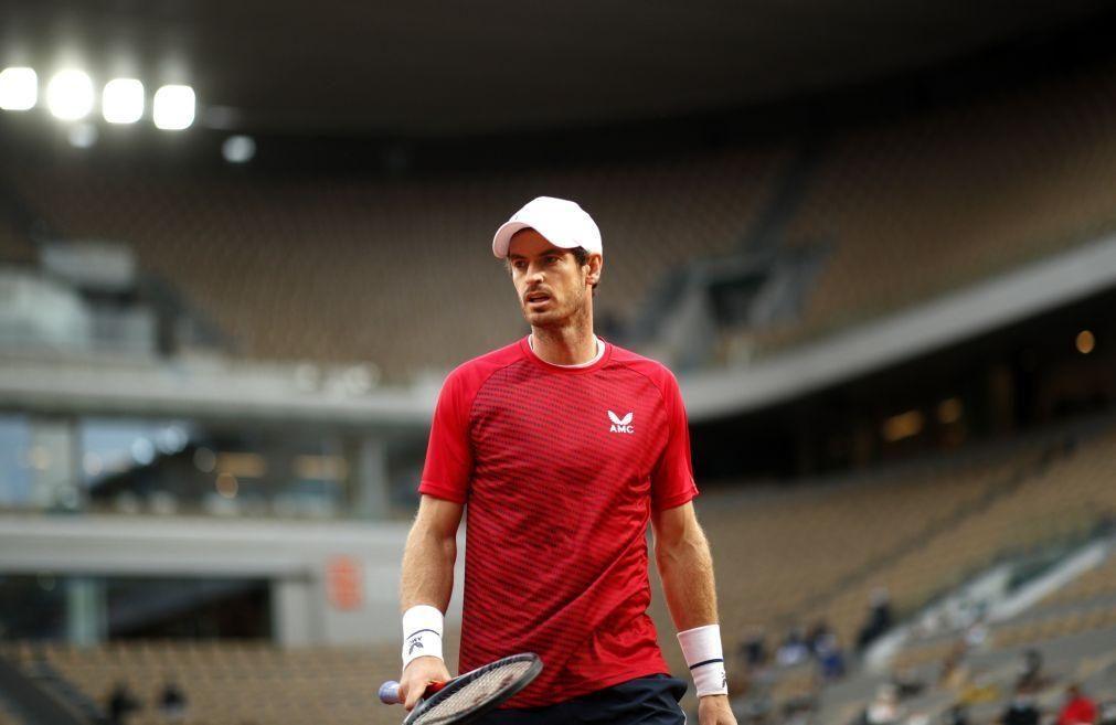 Covid-19: Tenista Andy Murray confirma ausência do Open da Austrália