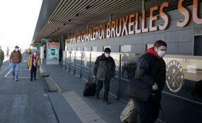 Covid-19: Bélgica interdita viagens não essenciais ao estrangeiro entre 27 de janeiro e 01 de março