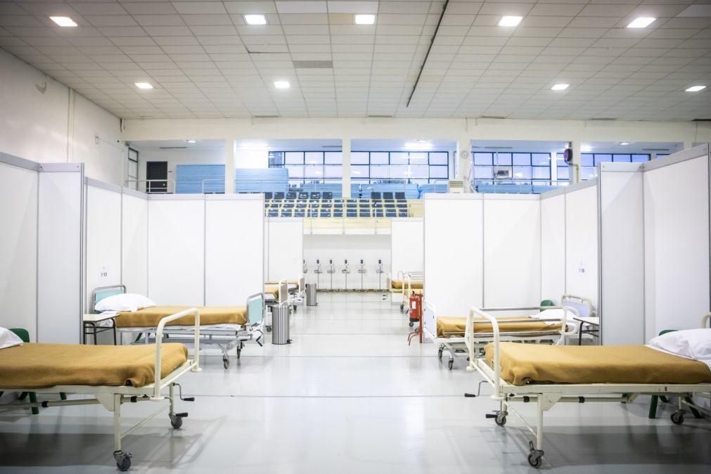 Covid-19: Hospital de campanha de Lisboa recebe primeiros doentes neste fim de semana