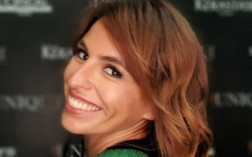 Joana Cruz e a marmita prometida por Cláudio Ramos: «Amei o carinho»