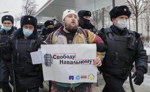 Navalny: Dezenas de pessoas presas em manifestações em apoio ao opositor na Rússia