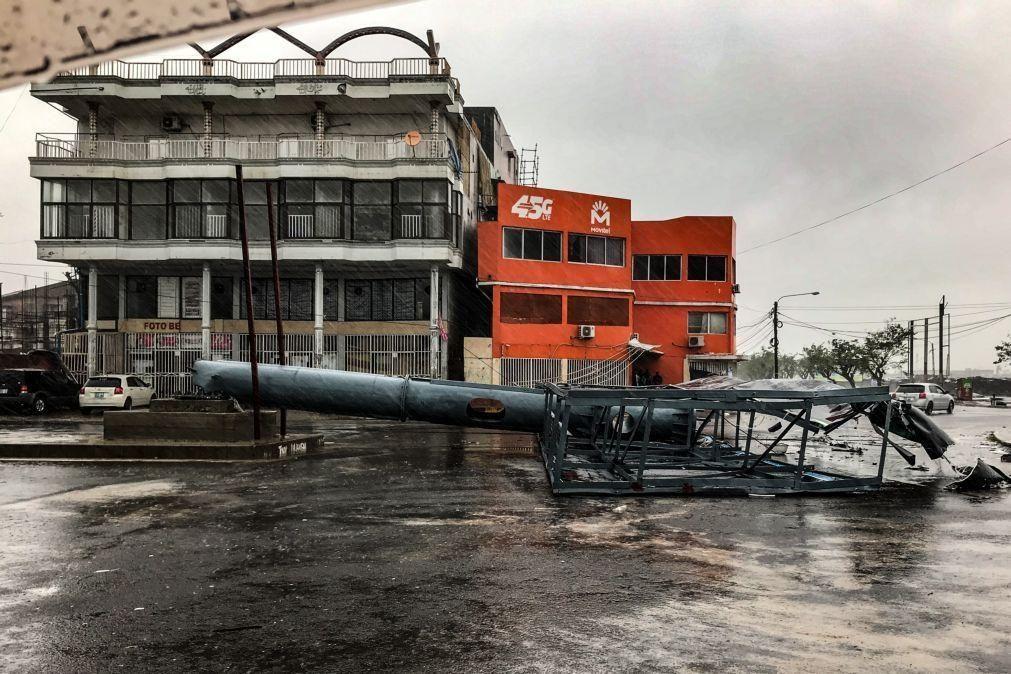 Beira acorda com inundações e destruição após ciclone Eloise atingir centro de Moçambique