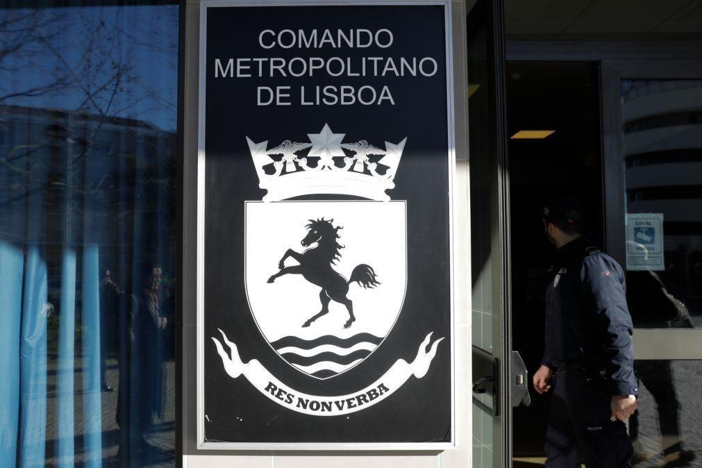 Comando Metropolitano de Lisboa detém 28 pessoas nas últimas 24 horas