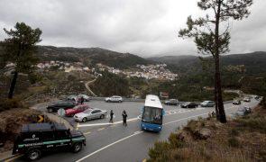 Estradas na Serra na Estrela foram reabertas este sábado