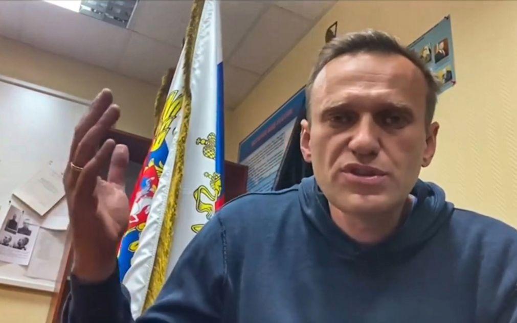 UE debate na segunda-feira medidas para pressionar libertação de Navalny
