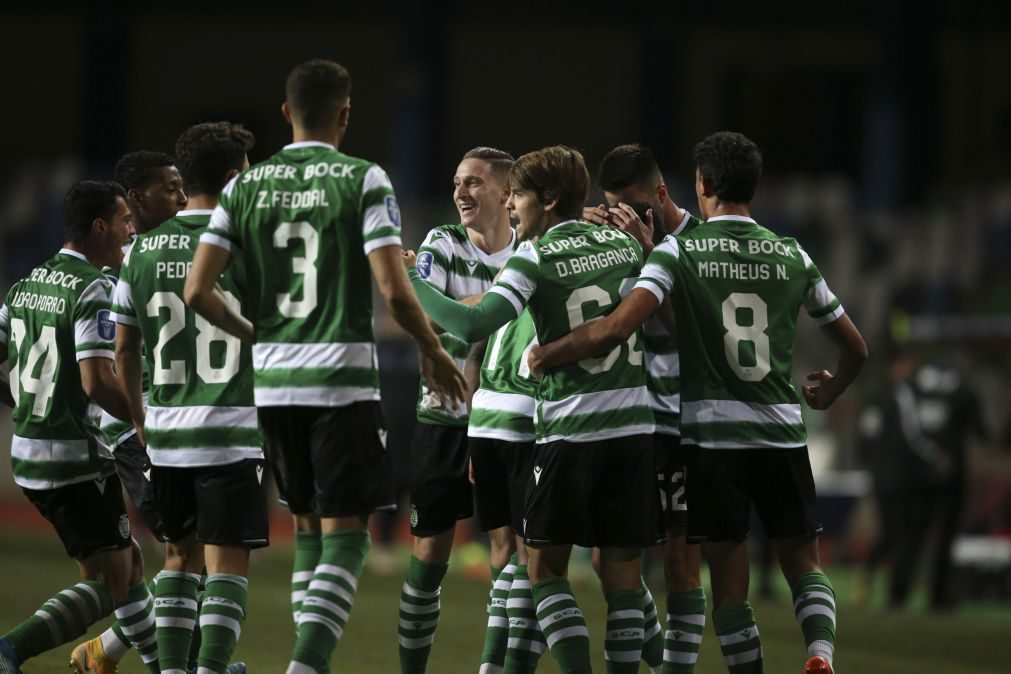 Taça da Liga: Jovane e Nuno Mendes titulares no Sporting, Braga repete 'onze'