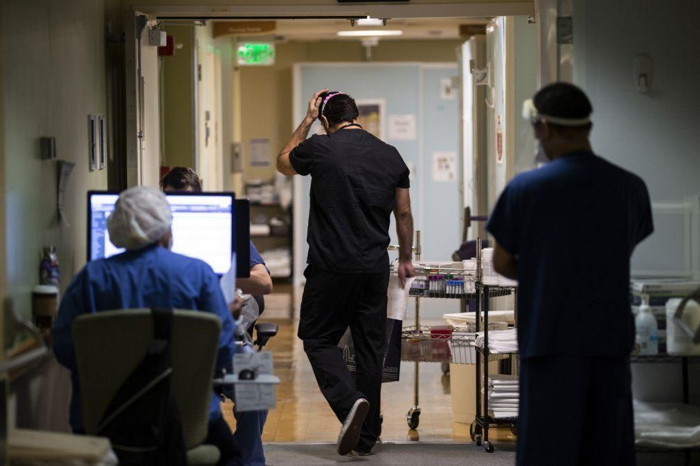 Covid-19: EUA registam 3.519 mortos e 176.581 casos em 24 horas
