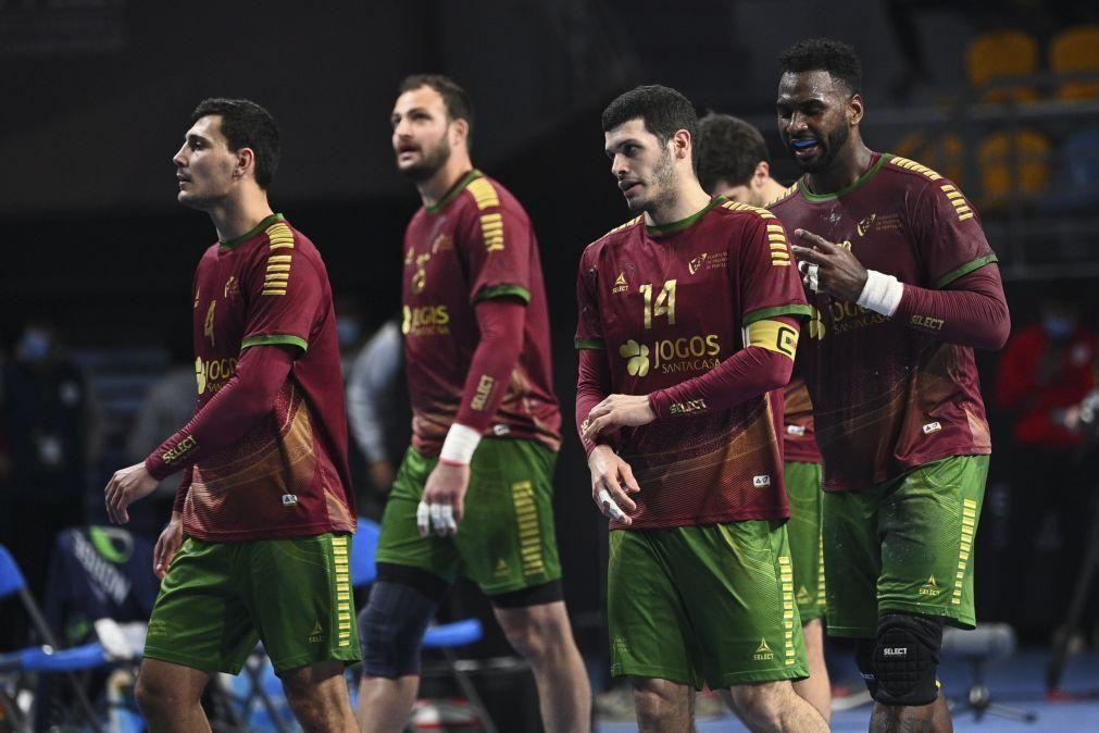 Andebol/Mundial: Portugal obrigado a vencer França para seguir para os 'quartos'