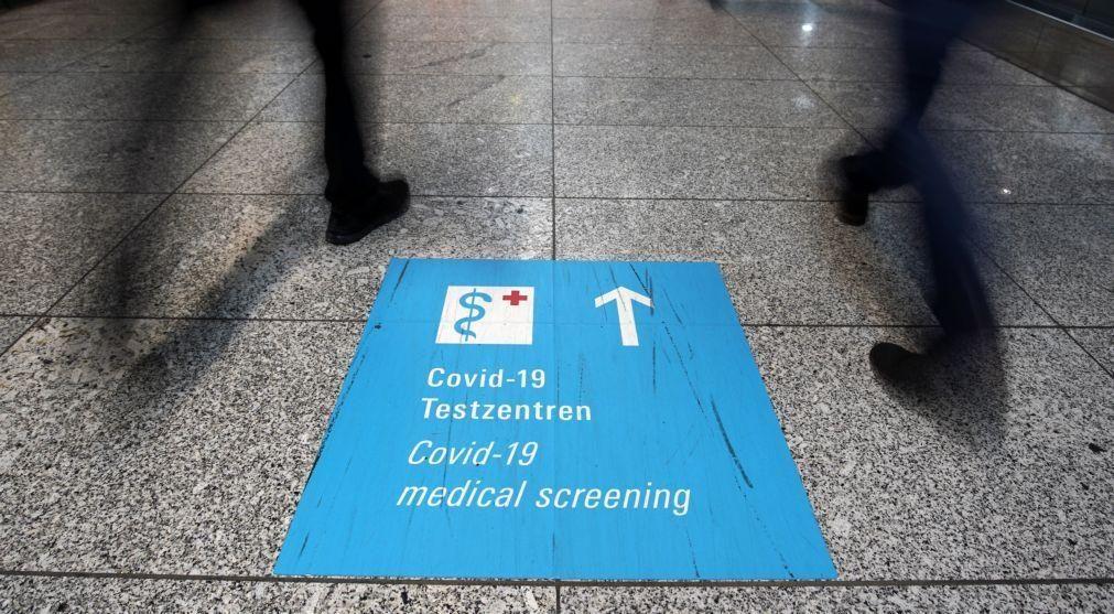 Covid-19: Alemanha regista 12.257 novas infeções e aumenta controlo nas fronteiras