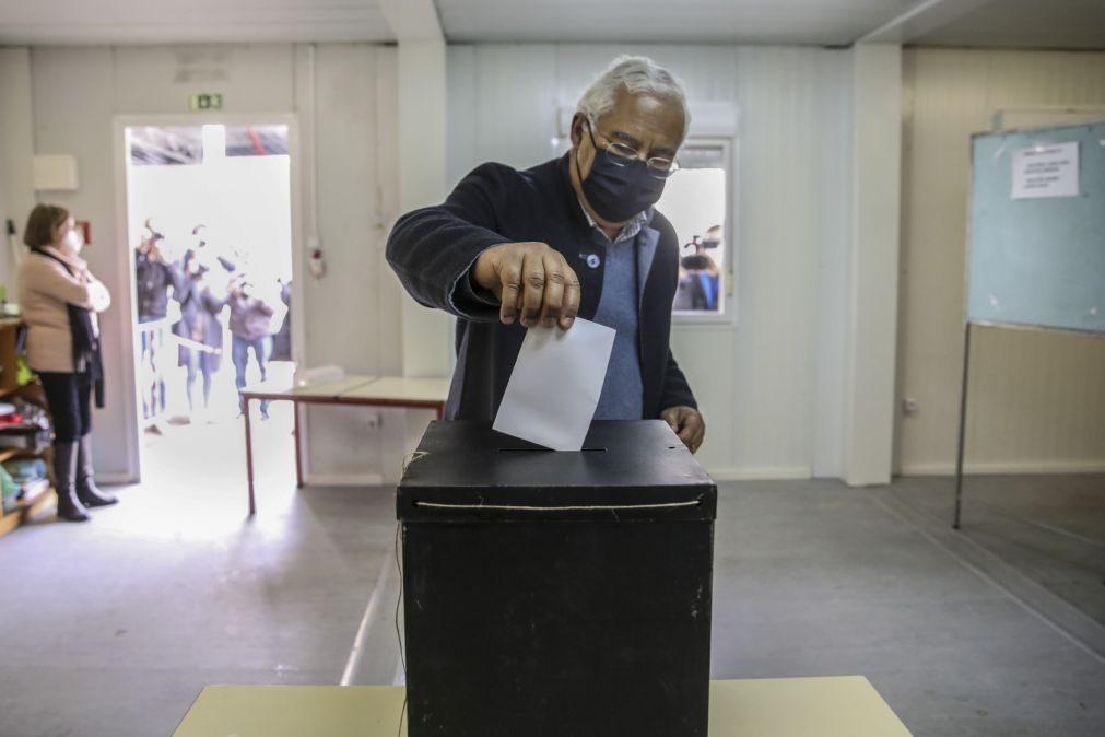 Presidenciais: António Costa apela ao voto e deixa agradecimento
