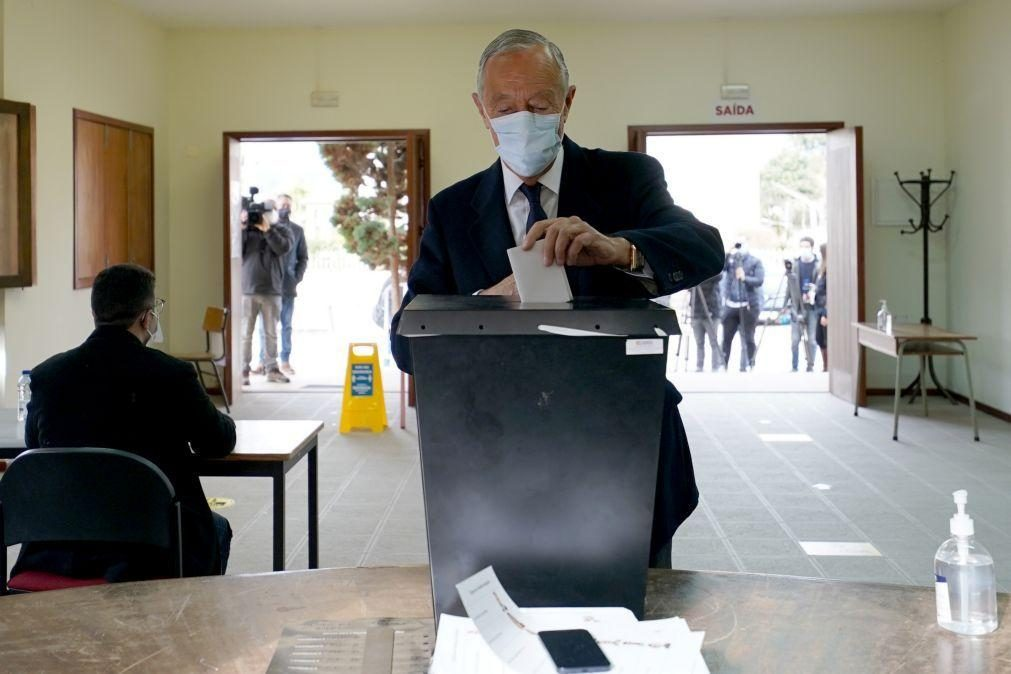 Presidenciais: Marcelo assinala cumprimento de regras sanitárias