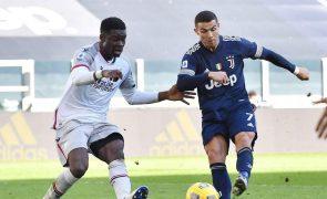 Juventus vence Bolonha com assistência de Cristiano Ronaldo