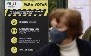 Presidenciais: Algumas filas, segurança sanitária e repetidos apelos ao voto